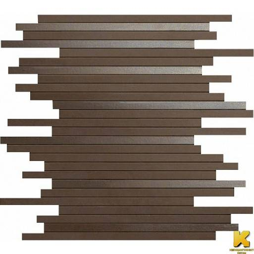 Dwell Brown Leather Mosaico L