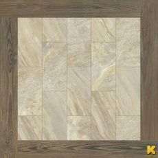 Керамогранит Magnetique beige inserto root  60x60