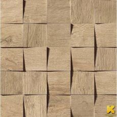 Мозаика Axi golden oak mosaico 3d 35x35