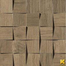Мозаика Axi brown chestnut mosaico 3d 35x35