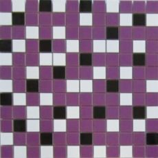 Мозаика Nordic mix purple mosaic  29.75x29.75
