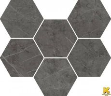 мозаика Charme Evo Antracite Mosaico Hexagon