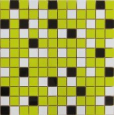 Мозаика Nordic mix lime mosaic  29.75x29.75