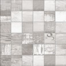 Мозаика Mosaico chalkwood white natural  29.75x29.75