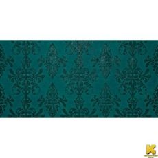 Ewall Petroleum Green Damask