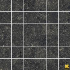 Мозаика Room stone black mosaico  30x30