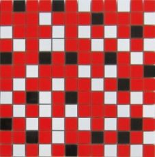 Мозаика Nordic mix red mosaic  29.75x29.75