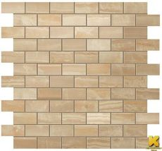 Мозаика S.o. royal gold brick mosaic 30.5x30.5