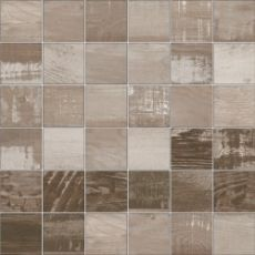 Мозаика Mosaico chalkwood brown natural  29.75x29.75