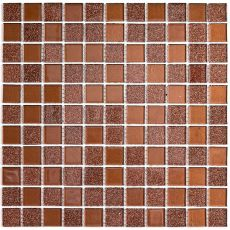 мозаика Shine Brown 30x30