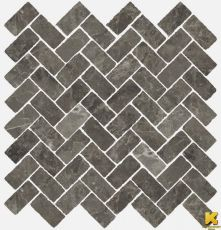 Мозаика Room stone grey mosaico cross  31.5x29.7
