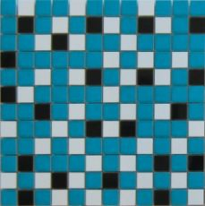 Мозаика Nordic mix blue mosaic  29.75x29.75