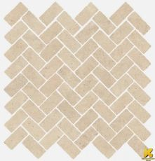 Мозаика Room stone beige mosaico cross  31.5x29.7
